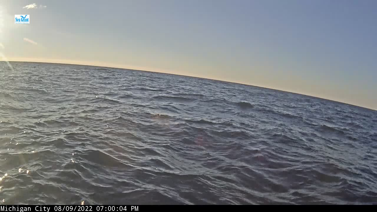 Webcam from Michican City Buoy