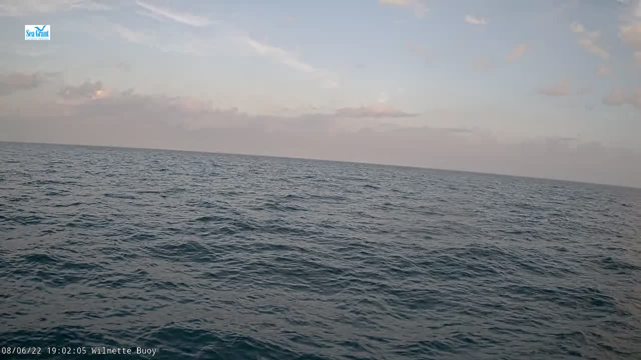 Webcam from Wilmette Buoy
